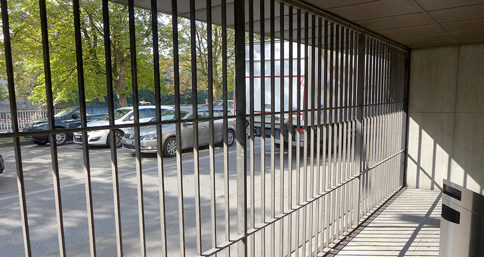 Senkfenster vor dem Umbau