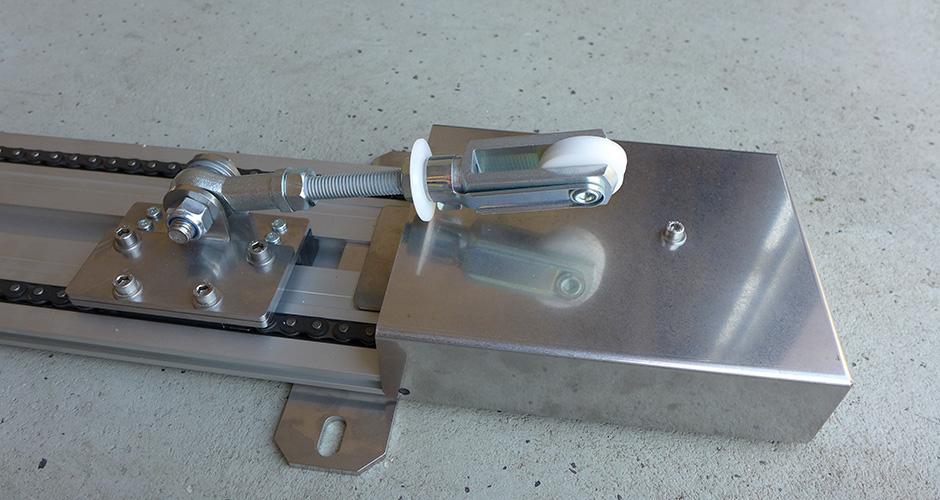 KS-Torantrieb - Mitnehmer Variante